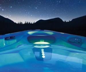 clean a hot tub