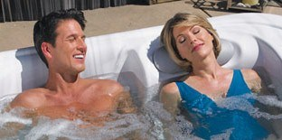 sleep benefits of hot tubs