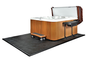 Smart Deck Hot Tub Decking